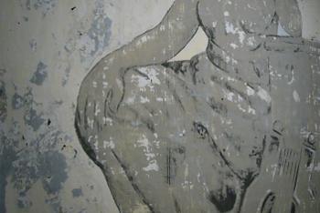 Afdruk muurschildering