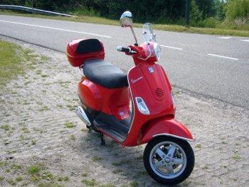 Vespa LX50 4-takt