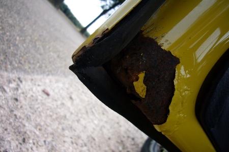 Roest carrosserie (deur bestuurder)