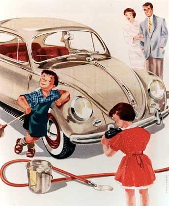 Der große Tag. Endlich VW-Besitzer!