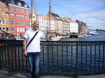 Kees bij de Nyhavn